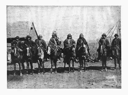 La rebelión mapuche de 1881