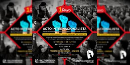 Desde 14 países y en 6 idiomas: reviví el acto del 1º Mayo de la Fracción Trotskista-Cuarta Internacional