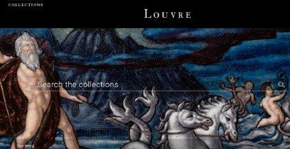 El Louvre digital: un catálogo online permite ver casi medio millón de obras