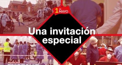1 de Mayo   Acto Internacionalista: conexión simultánea desde 14 países