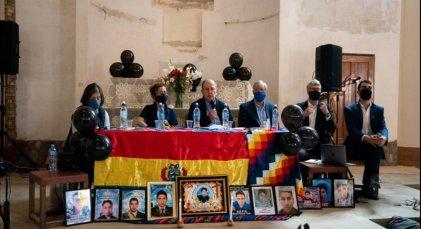 Entregan informe sobre violaciones a los DD. HH. durante el golpe de Estado en Bolivia