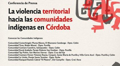 Conferencia sobre la problemática territorial de las comunidades indígenas de Córdoba