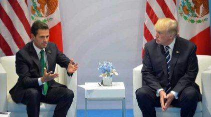 Peña Nieto celebra encuentro mientras Trump ratifica que México pagará muro