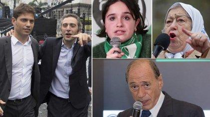 """A Kicillof y Larroque les resbalan las críticas internas por Guernica: """"Opinan sin conocer"""""""