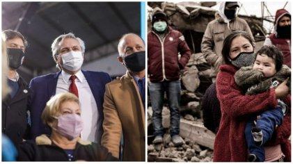 Mujeres: el doble discurso gubernamental durante los anuncios en Lomas de Zamora