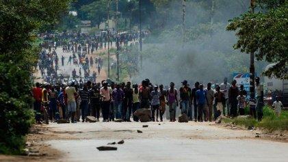 Más de 170 heridos y 8 muertos tras la huelga general de 72 horas en Zimbabue