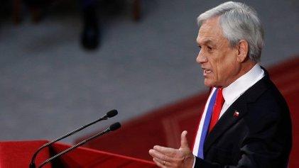 Piñera habló ante el Congreso buscando blindar el régimen y aumentar la represión a la juventud