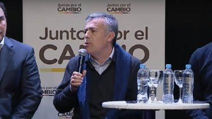 El modelo Cornejo: defendió la meritocracia y criticó a quienes reciben planes sociales