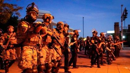 La Policía asesinó a tiros a un manifestante en Estados Unidos