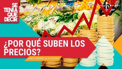 Inflación y derrumbe económico: ¿por qué suben los precios?