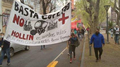 Acción Global por el Clima: trabajadores y jóvenes de La Plata dijeron presente