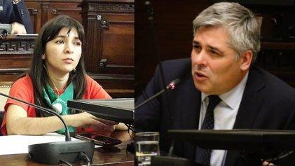 """Grave agresión del presidente de Diputados del PJ en Mendoza a Mailé Rodríguez Ábalo del FIT: """"si tu abuelo viviera se volvería a morir"""""""