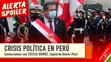"""Crisis política en Perú: """"Hay un vacío de poder, no hay presidente"""""""