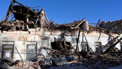 Un terremoto de magnitud 6,4 sacude Croacia