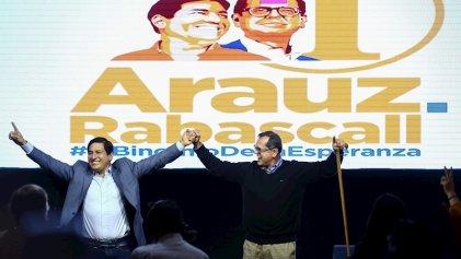 Ganó Arauz, pero habrá segunda vuelta en Ecuador: Lasso y Pérez pelean el segundo lugar