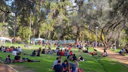 Concentración por el Día mundial de la Marihuana en Mendoza