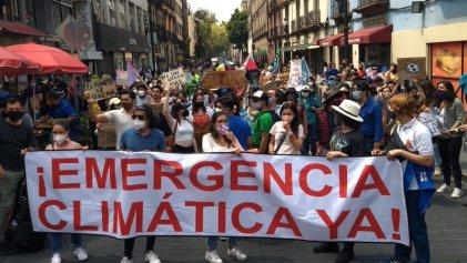México: jóvenes se unen a la Huelga Mundial por el Clima