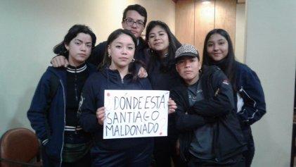 """Universidad de Valparaíso también se pregunta """"¿Dónde está Santiago Maldonado?"""""""