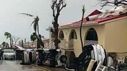 Isla Barbuda incomunicada tras el paso del huracán Irma