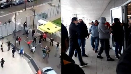 La Policía de Larreta, junto a barrabravas, reprime a cooperativistas textiles