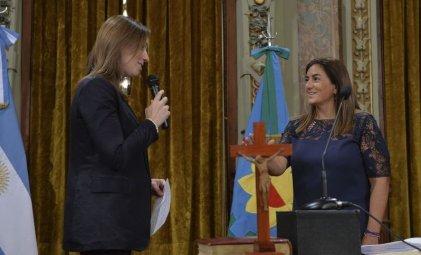 Inza es Vidal: la recaudadora de los aportes truchos será contadora general de la Provincia