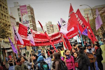 FOTOCRÓNICA: Valparaíso conmemora el Día Internacional de los Trabajadores