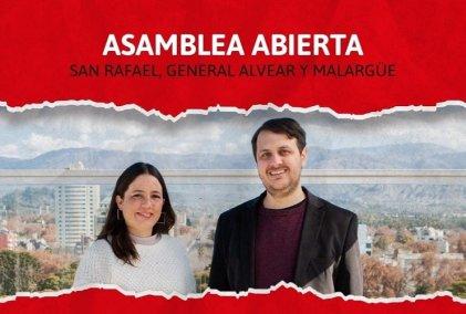 La fuerza del FIT-U en el sur de Mendoza: asamblea en San Rafael, General Alvear y Malargüe