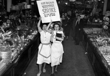 Las chicas que llevaron la huelga a las revistas