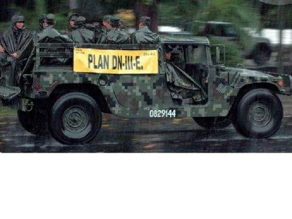 """Peligro con tormenta """"Katia"""": más ejército en las calles"""