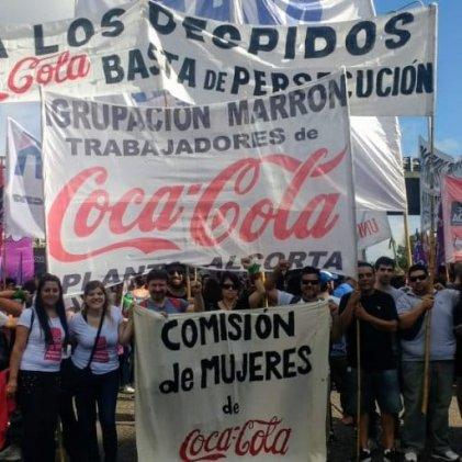 Protestarán frente a las oficinas de Coca-Cola este miércoles