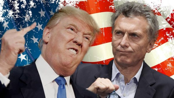 Trump y un golpe al relato de Macri